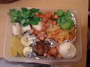 Lunch box du 16.11.2009