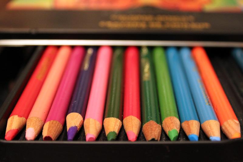 crayons de couleur de qualite