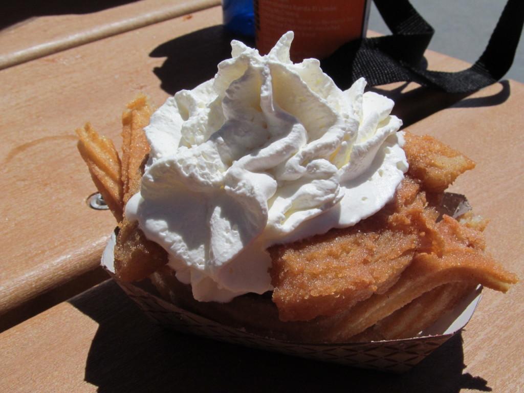 Beurre frit avec de la chantilly, une spécialité de San Diego ?