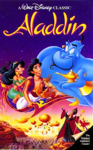 Aladdin par les studios Disney