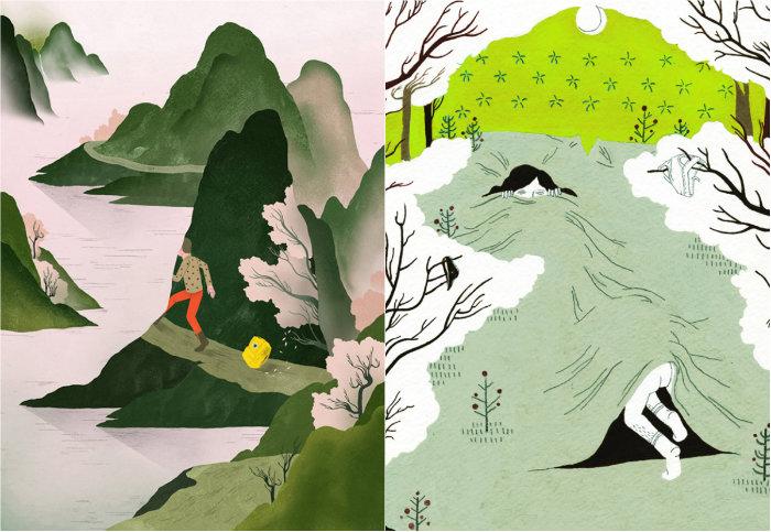 Illustrations personnelles de Gracia Lam
