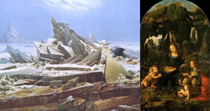 La perspective atmosphérique dans la peinture