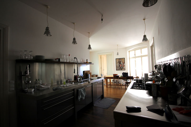 Une partie de l'appartement à Berlin