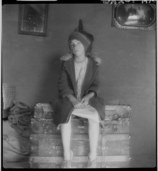 Dorothea Lange, Un enfant dans une ferme, Nouveau-Mexique, U.S.A., 1935