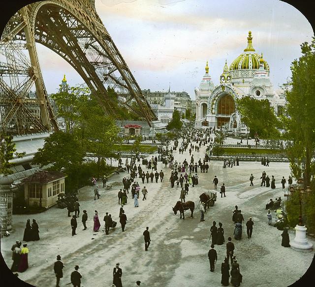 L 39 exposition universelle paris de l 39 an 1900 en couleurs for Expo photo paris
