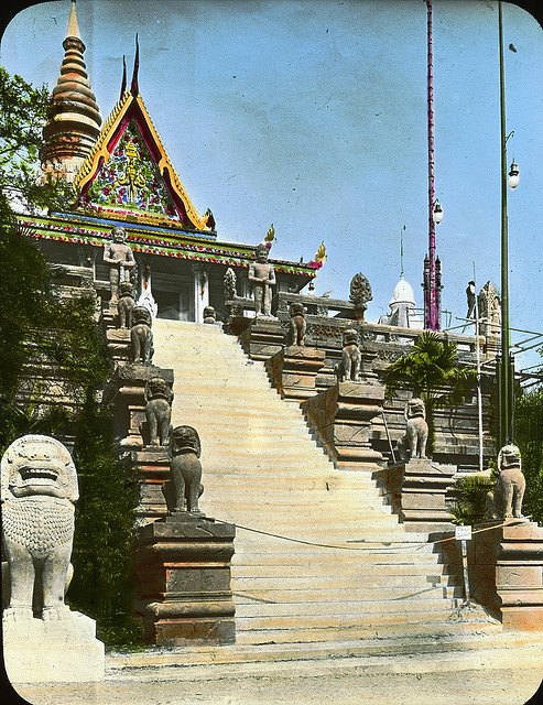 Le pavillon du Cambodge