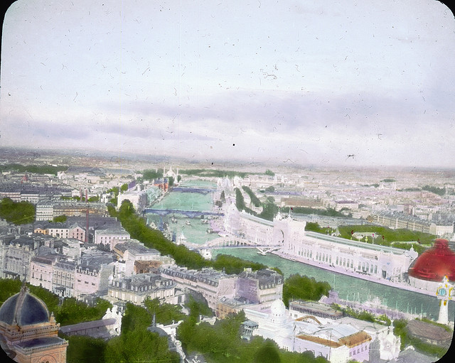 Vue de Paris, 1900