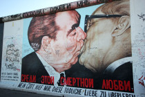 East Side Gallery à Berlin