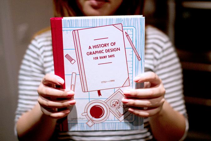 Livre : Une histoire du design graphique pour les jours de pluie, 1776-1994