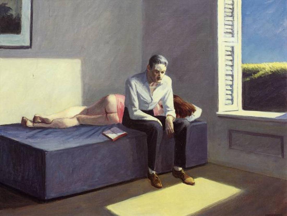 Hopper, Excursion into Philosophy, 1959