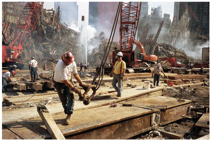 Joel Meyerowitz, Ironworkers, Automne 2001