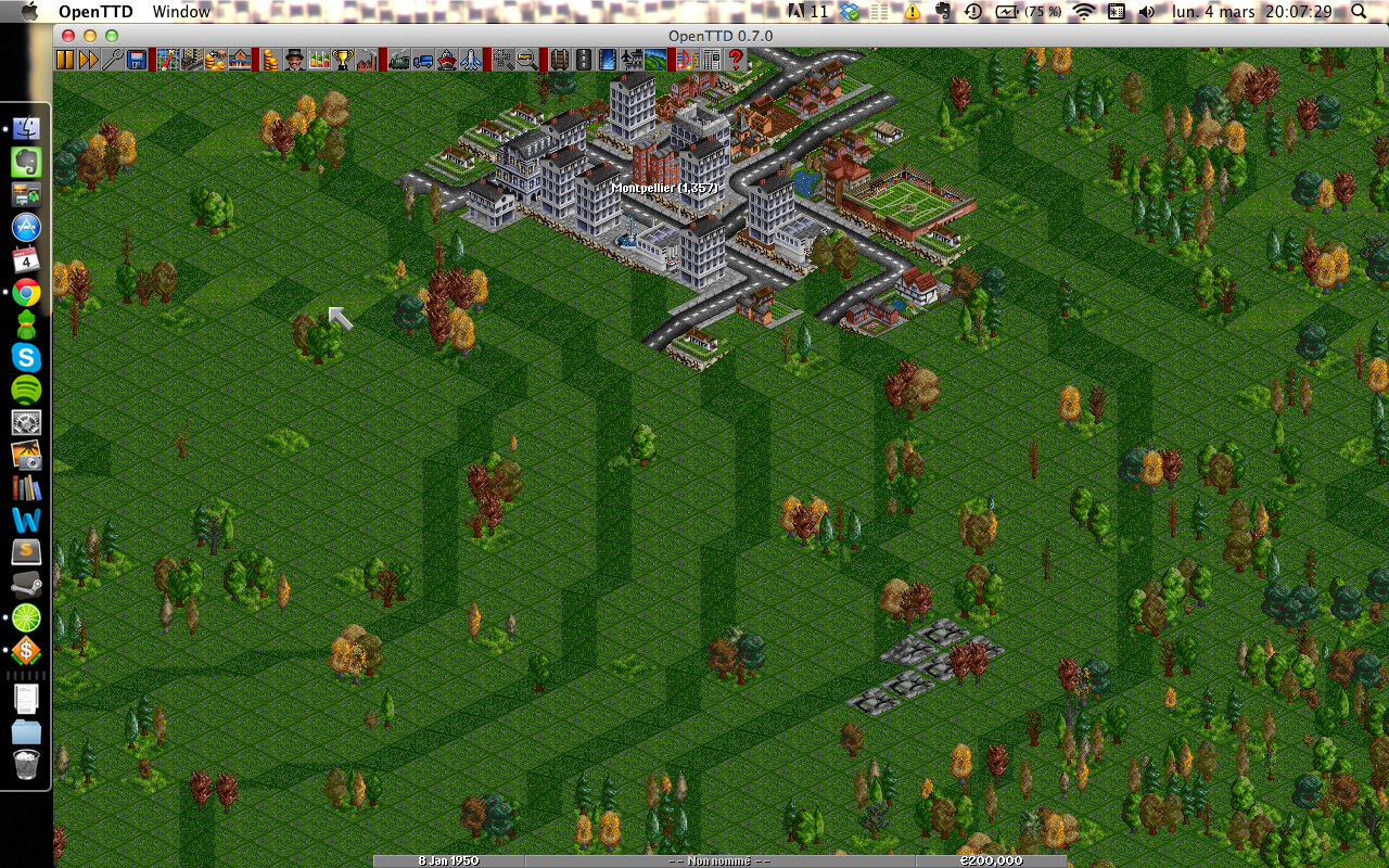 OpenTTD (sur mon ordinateur)