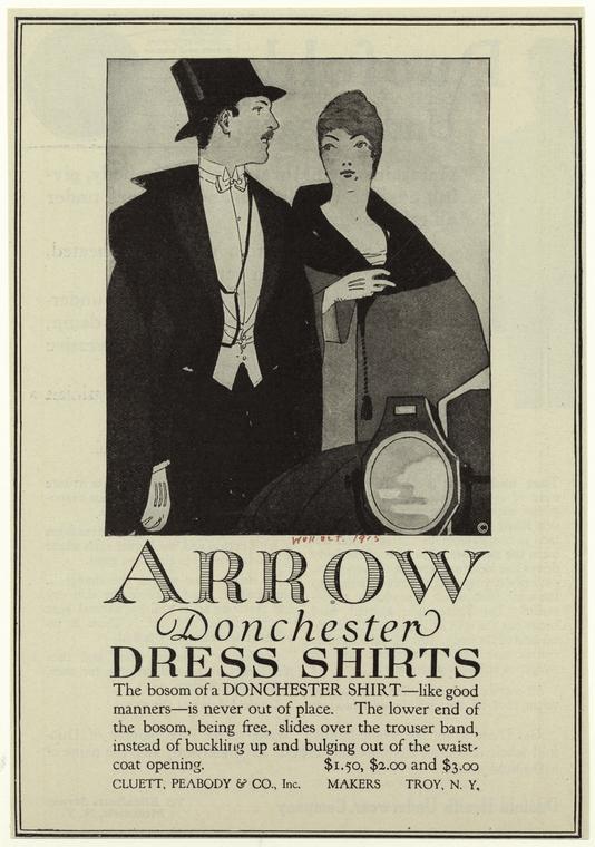 Publicité de 1915, États-Unis - source