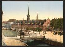 Une visite du Copenhague d'hier et aujourd'hui
