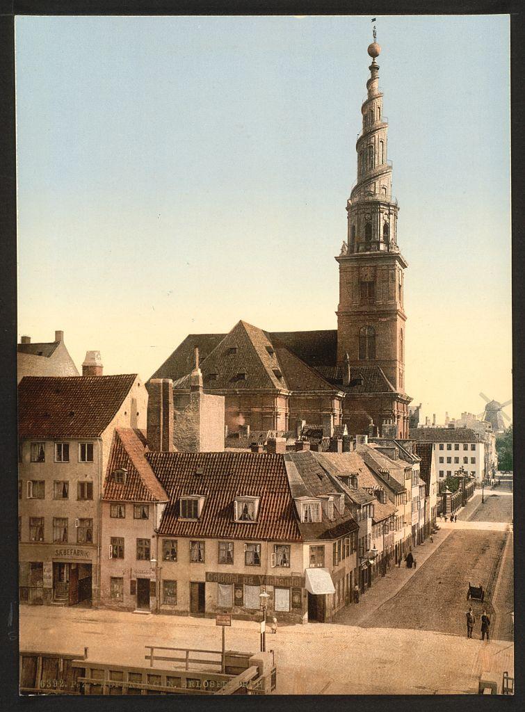 Vor Frelsers Kirke, entre 1890 et 1900, Library of Congress