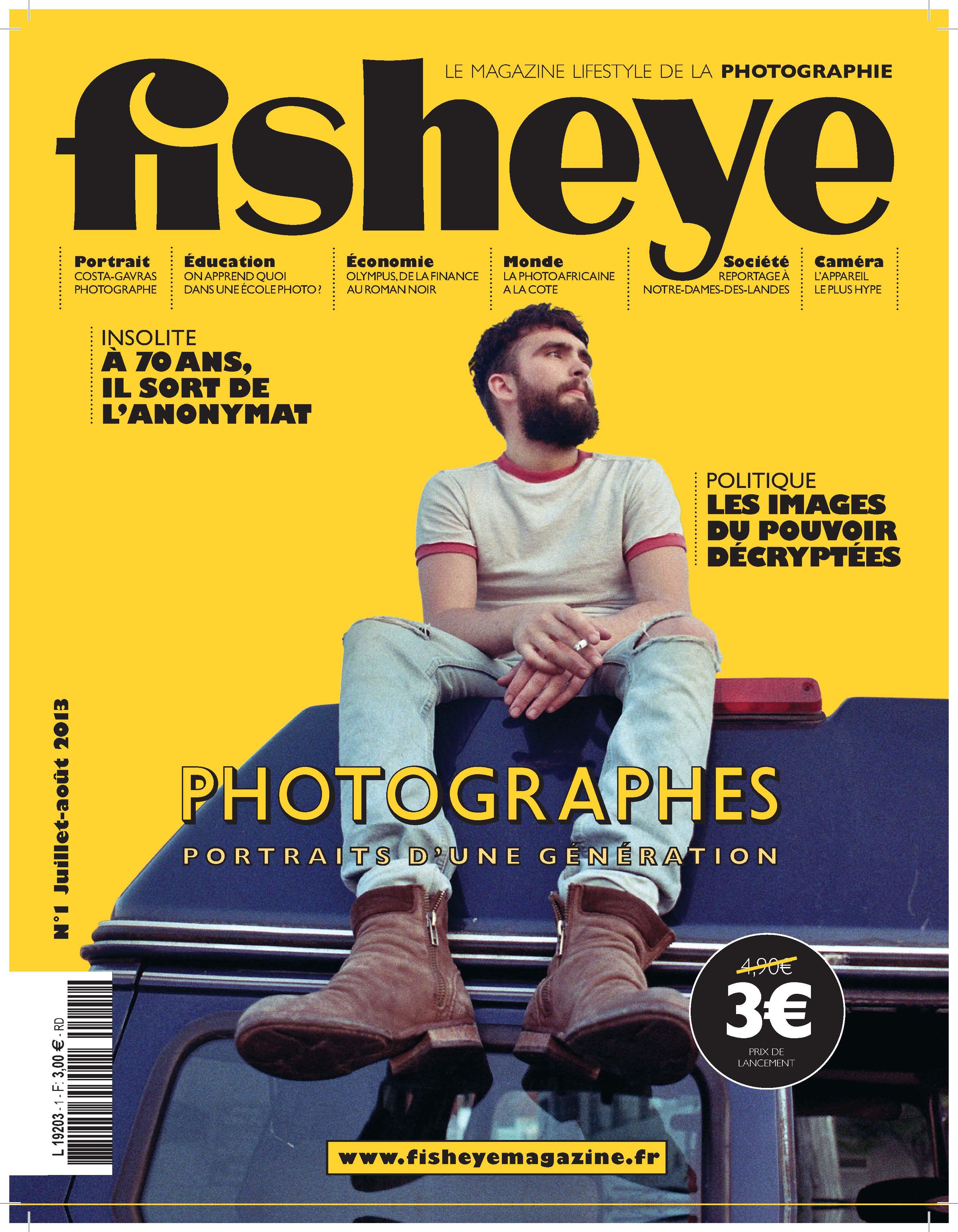 La couverture du 1er numéro de Fisheye