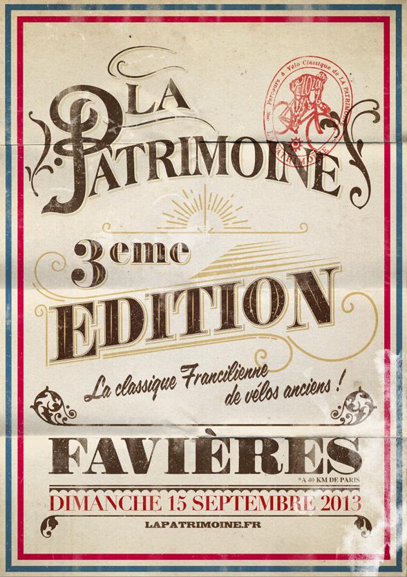 Affiche de La Patrimoine 2013
