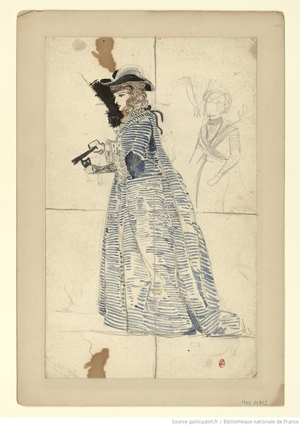 Inspirations de dessin de mode chez Gallica