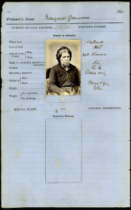 Margaret Greenwood. La photographie a été introduite dans les prisons de Nouvelle Galles du Sud en 1871.
