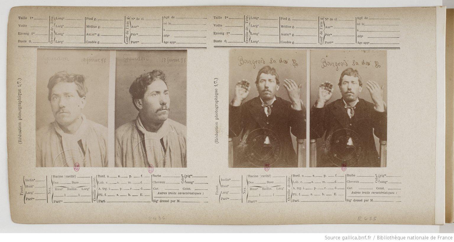 Photographie judiciaire et mug shots, un visage sur le crime