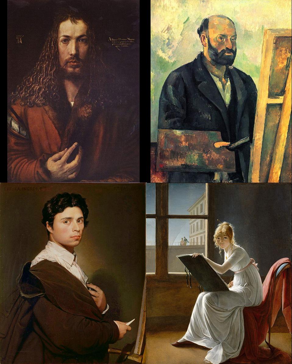 4 autoportraits