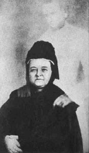 Marie Todd Lincoln et l'apparition truquée de son mari.