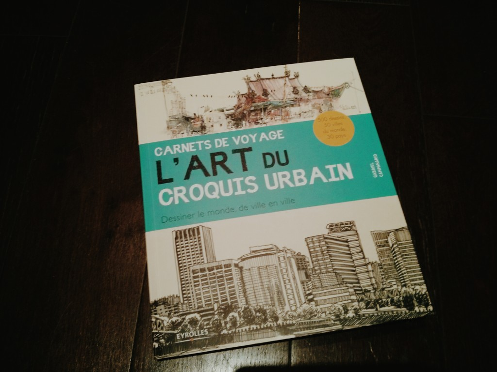 Livre L'art du croquis urbain