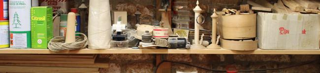 L'artisan menuisier de Venise et ma toupie