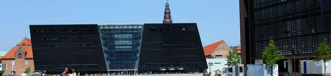 La bibliothèque royale, le diamant noir ou l'harmonie architecturale à la danoise