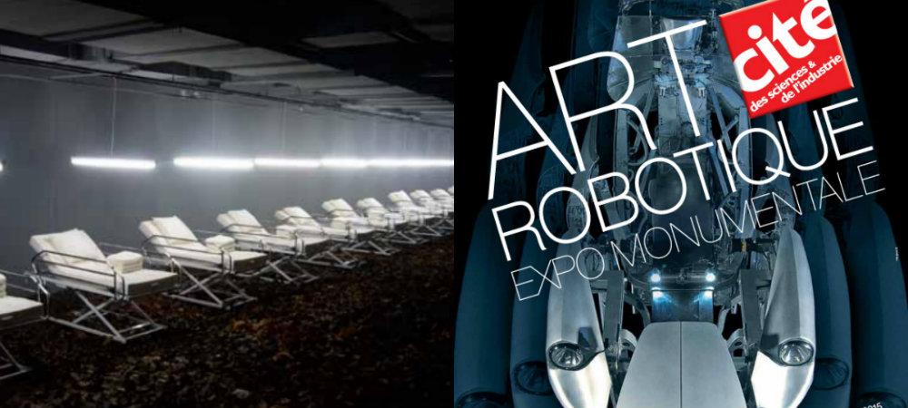 Art Robotique à la Cité des Sciences & de L'industrie