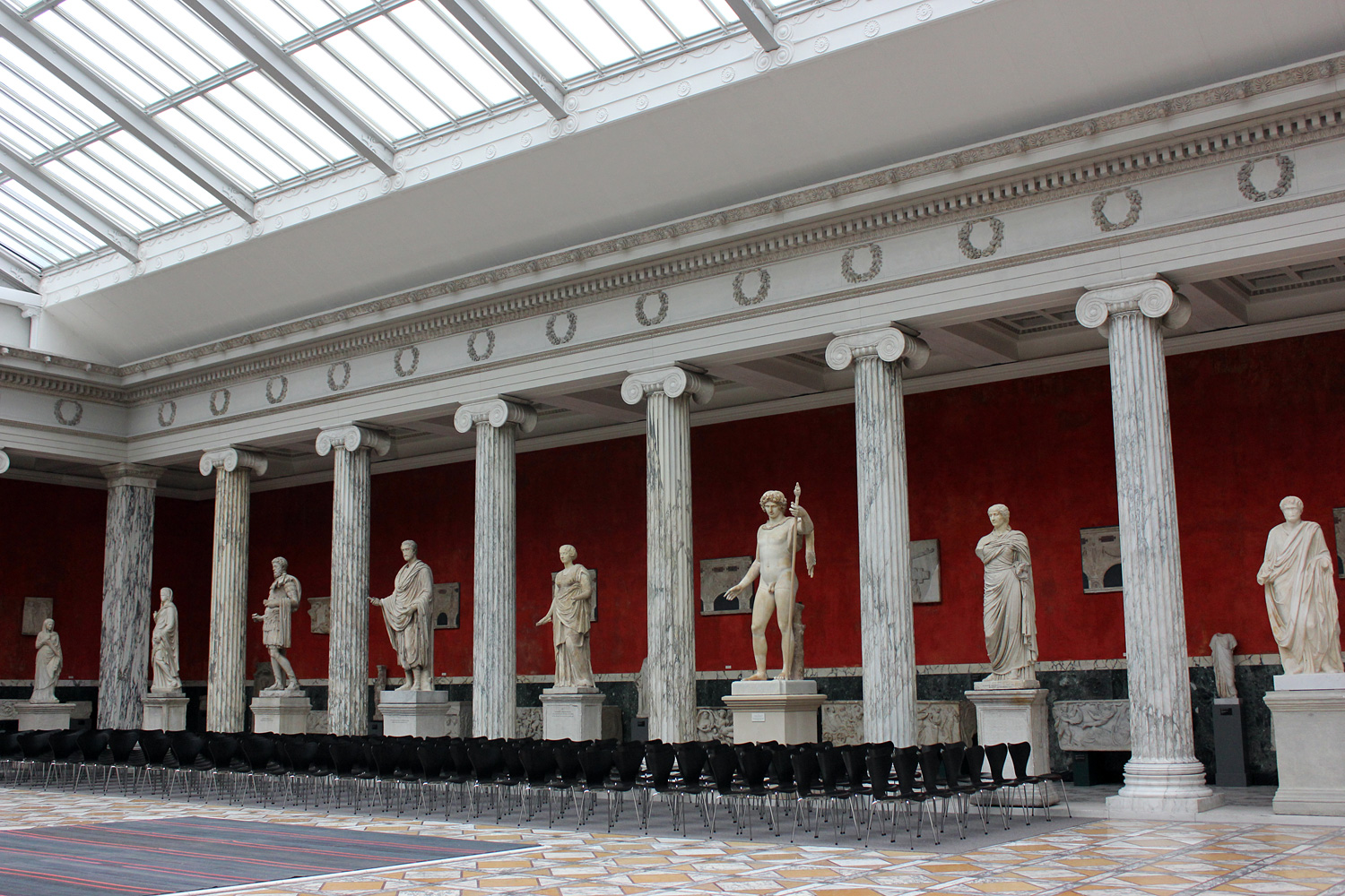 glyptotek-hall