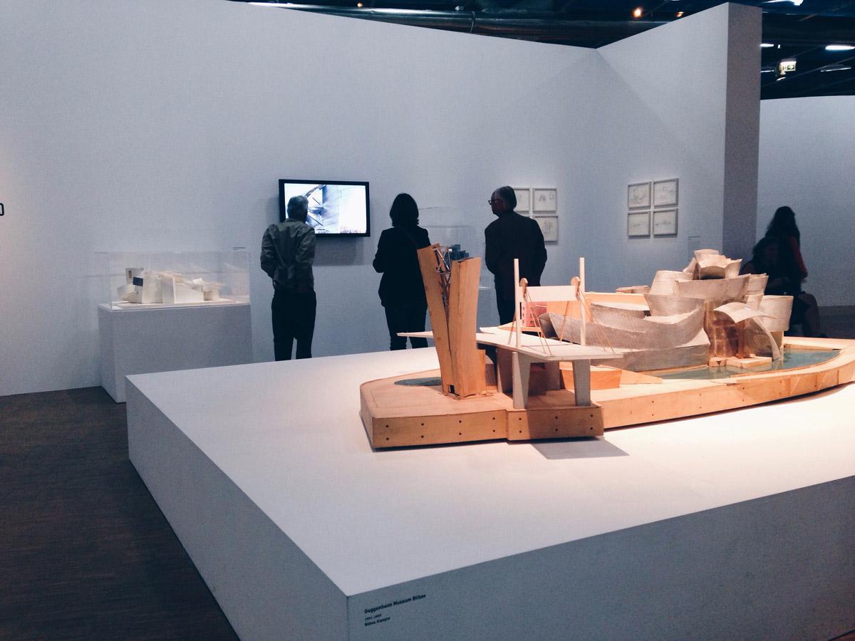 Exposition Frank Gehry au Centre Pompidou