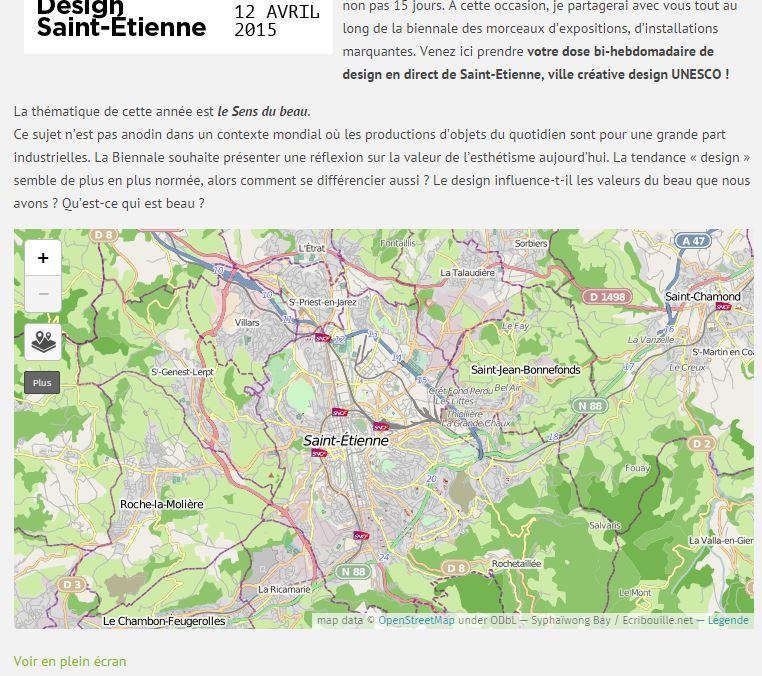 Cette carte disponible sur la rubrique Biennale vous permettra de situer géographiquement au fur et à mesure des publications les éléments traités.