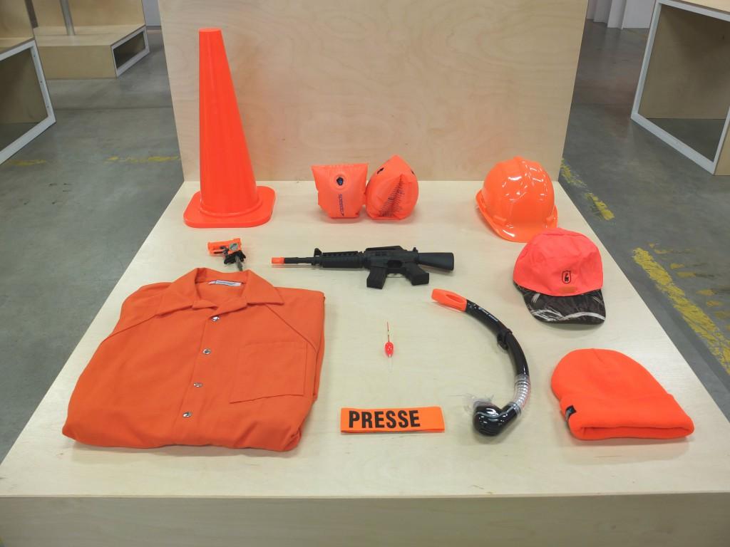 Pantone 152, le Orange Sécurité