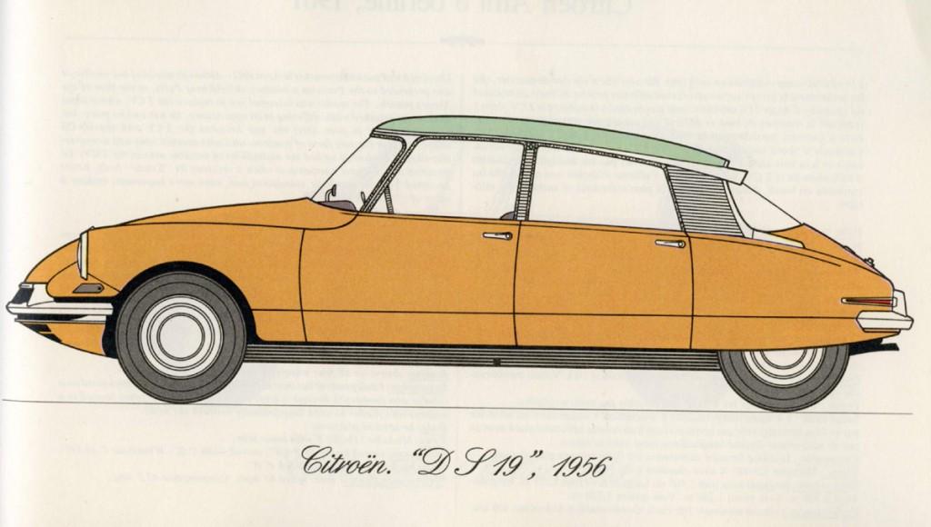 citroen ds 1956