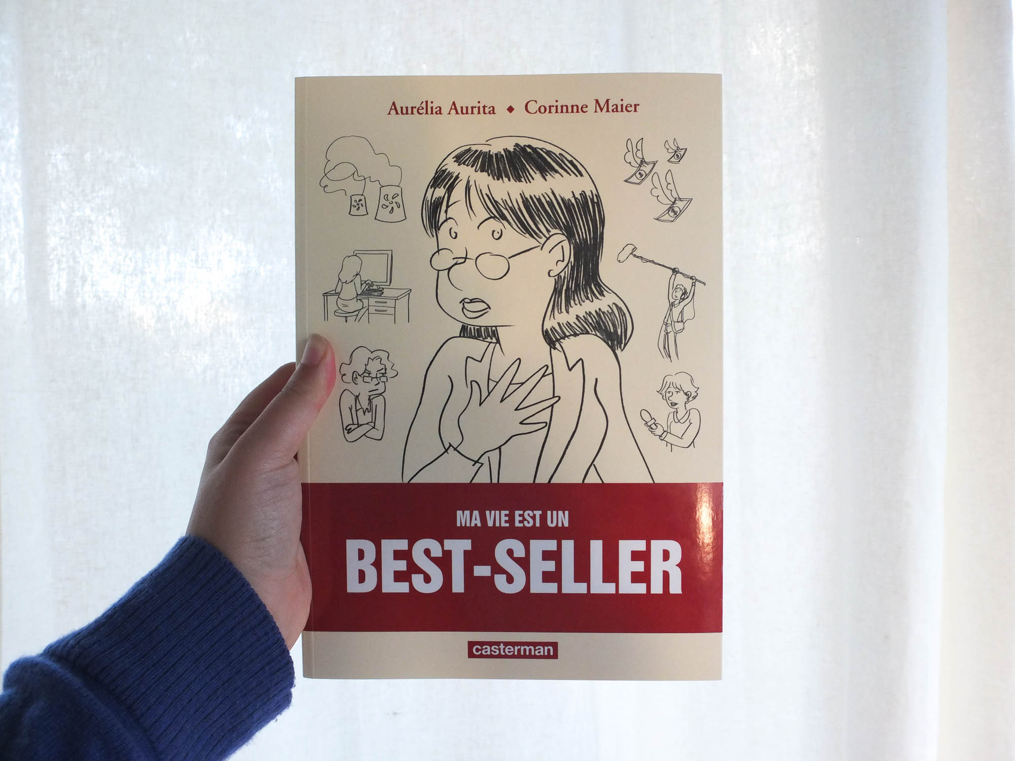 Ma vie est un best-seller, une BD générationnelle ?