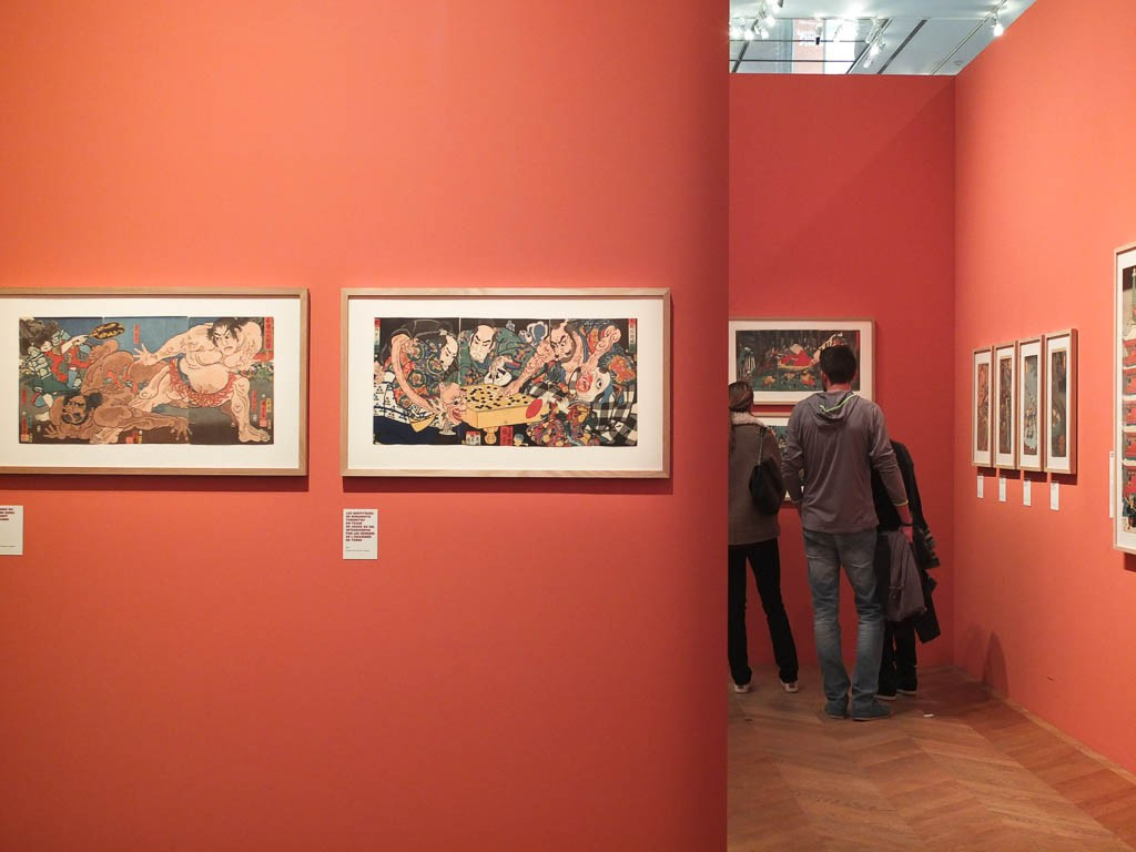 Les monstrueuses merveilles d'Utagawa Kuniyoshi au Petit Palais