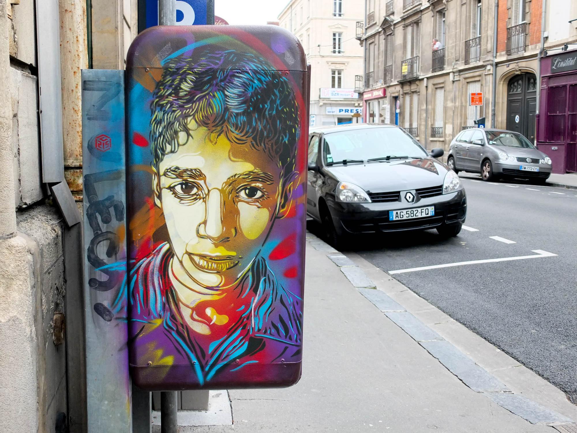 Le street art : Indoor / Outdoor