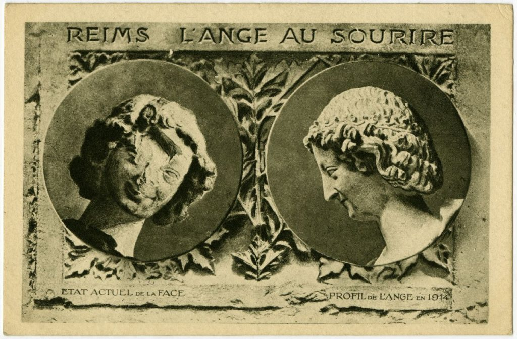 L'Ange au Sourire, image de 1918, George Eastman House Collection