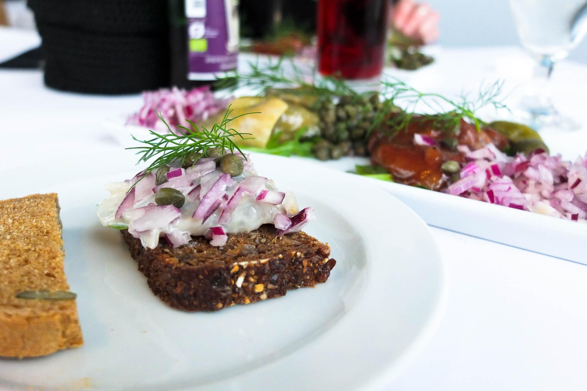 Déjeuner sur le toit de La Poste de Copenhague