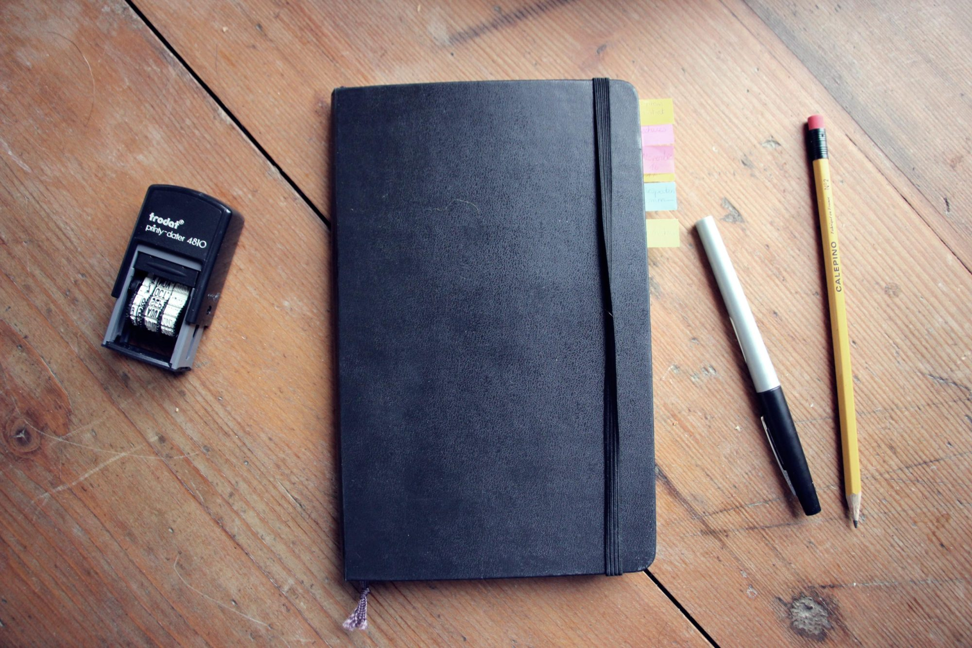 Application du bullet journal à ma vie de freelance