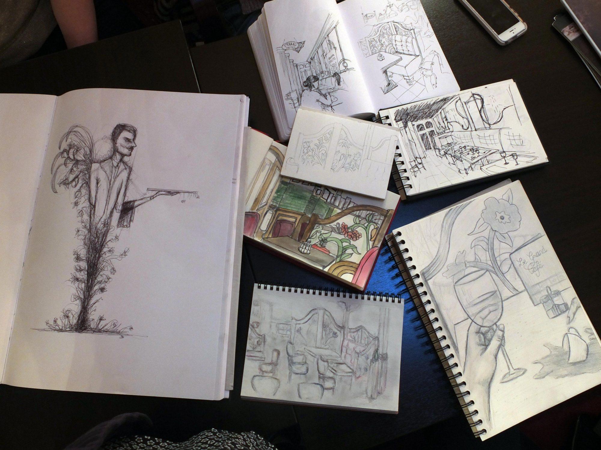 Un groupe pour dessiner ensemble #clubcroqueurs