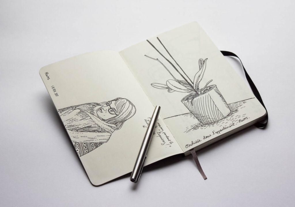 moleskine set de 3 cahiers pages blanches tres grand format couverture souple 19 x 25 cm noir