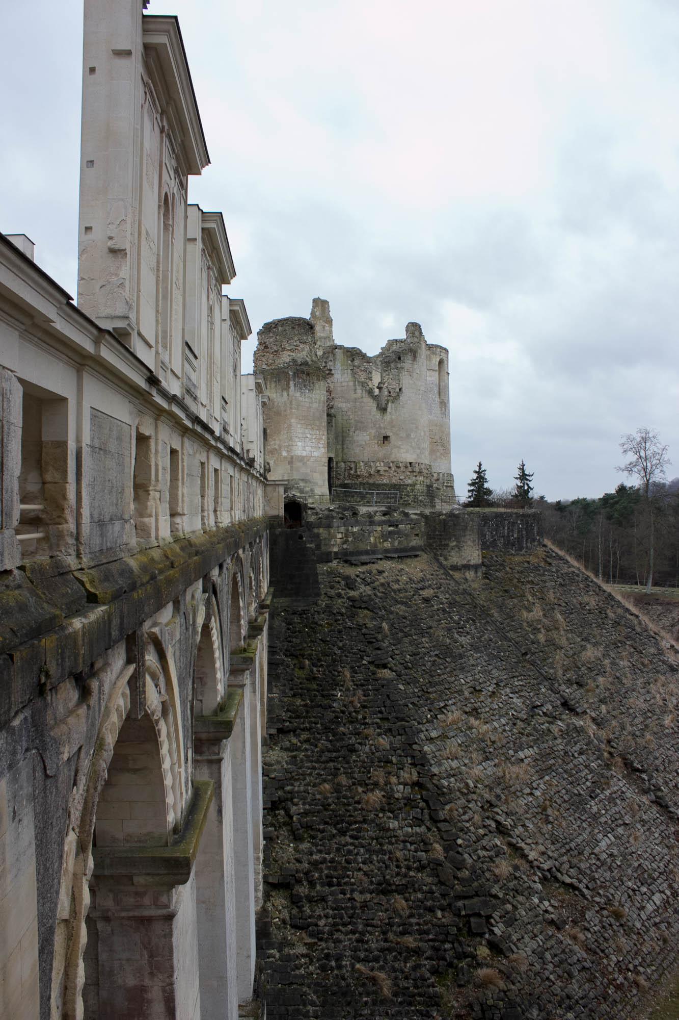Les ruines du château de Fère-en-Tardenois