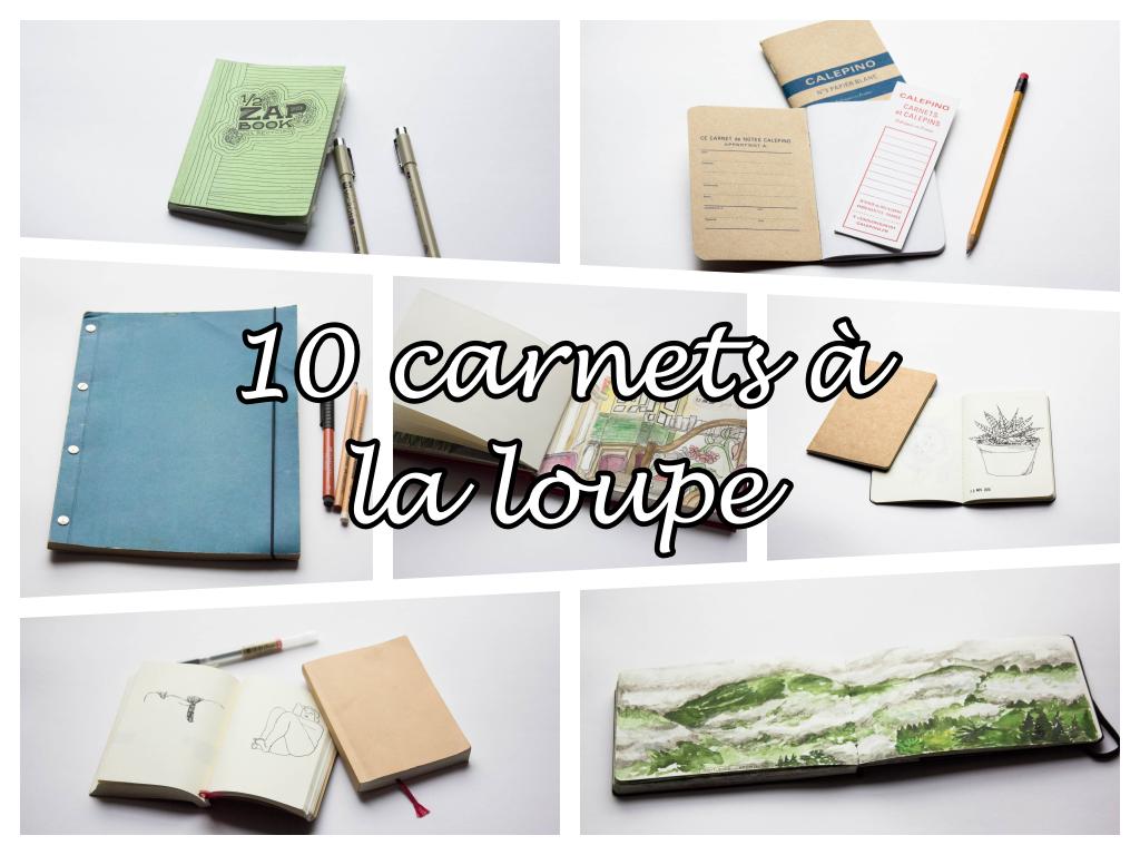 Test : 10 carnets pour le dessin à la loupe