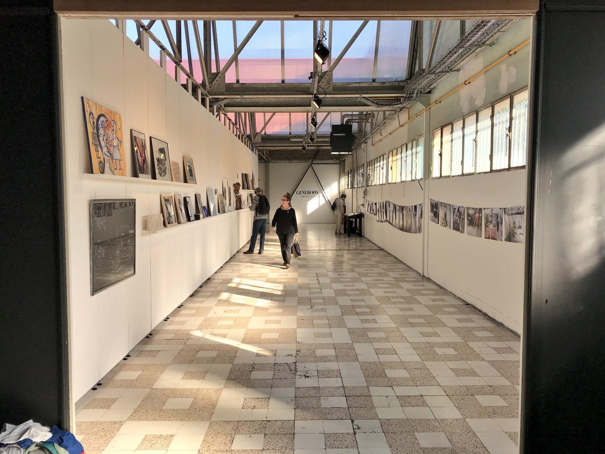 La friche artistique de Reims a ouvert ses portes (2017)
