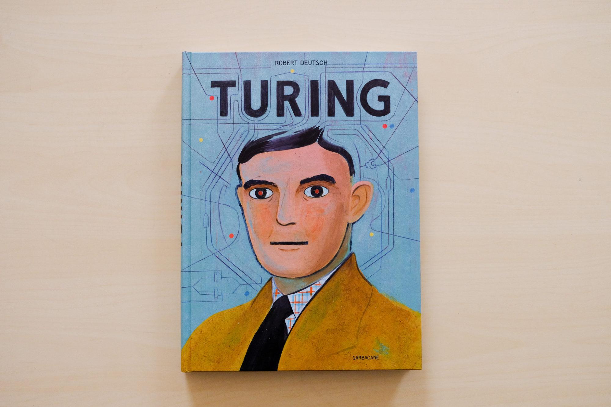 Turing, une bande dessinée touchante par Robert Deutsch