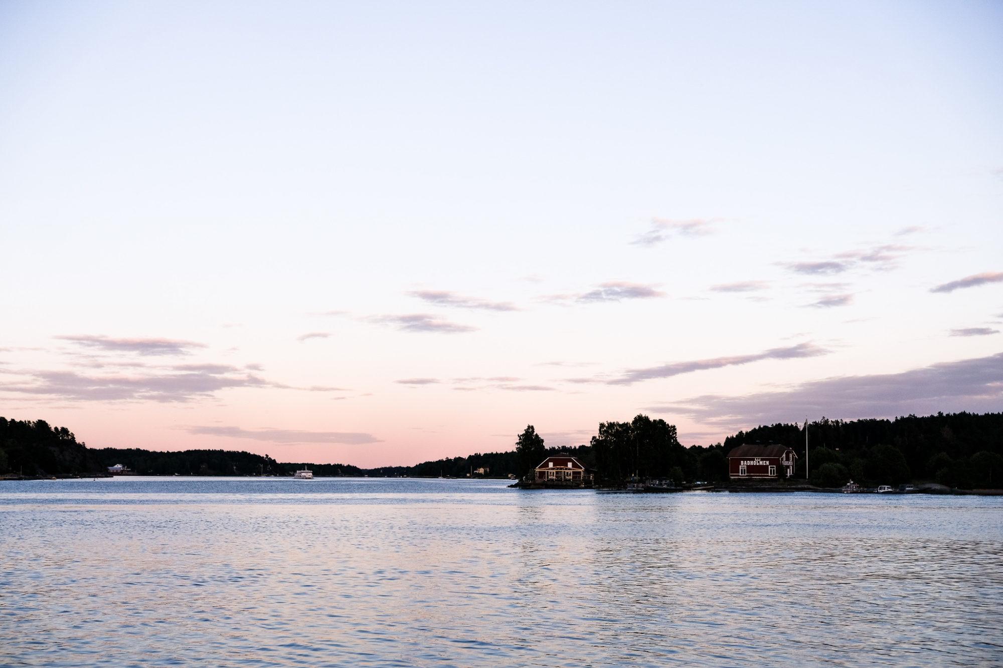 Une nuit dans la forteresse de Vaxholm
