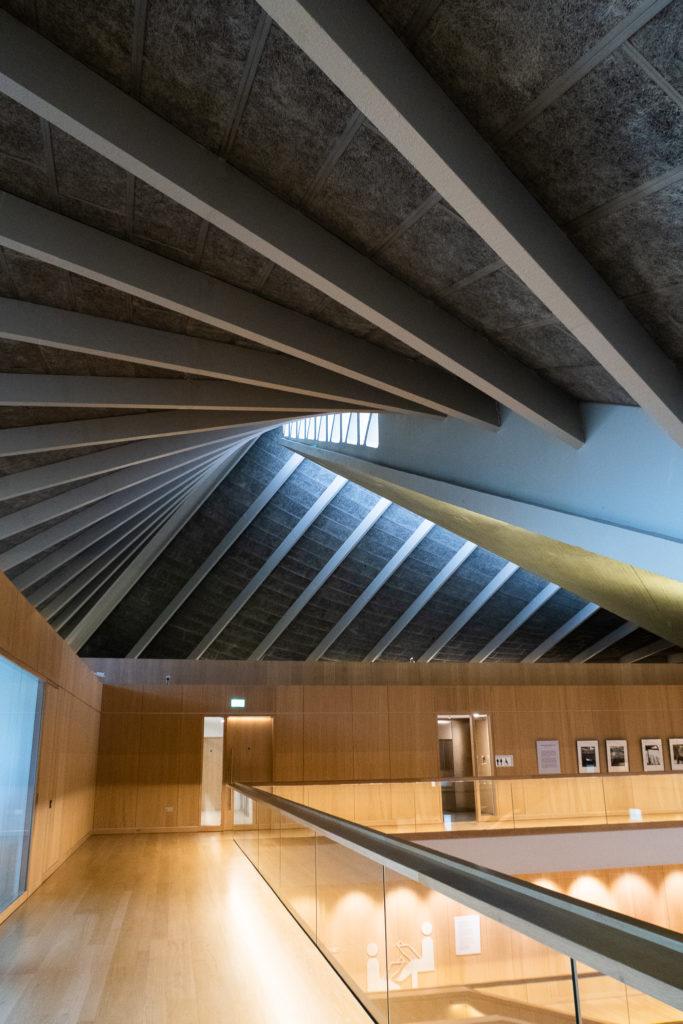 Intérieur de The Design Museum, Londres, mars 2020