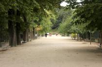 Le Jardin des Plantes de Paris malgré la pluie